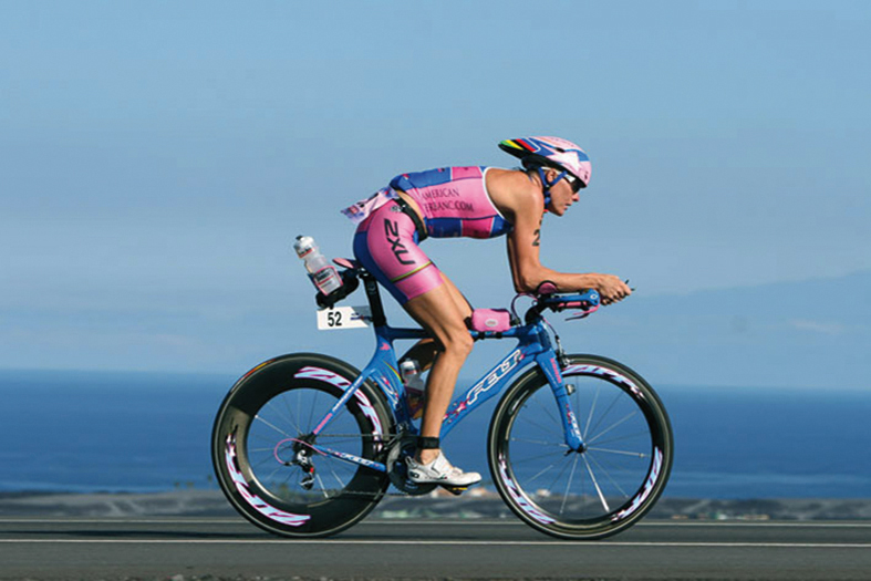 Michellie Jones at the World Championships Ironman Hawaii 2006