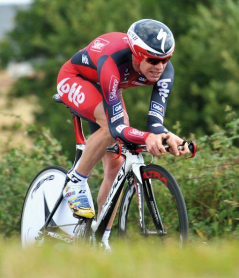 Cadel Evans 1st in an ITT at Tour de France  2008
